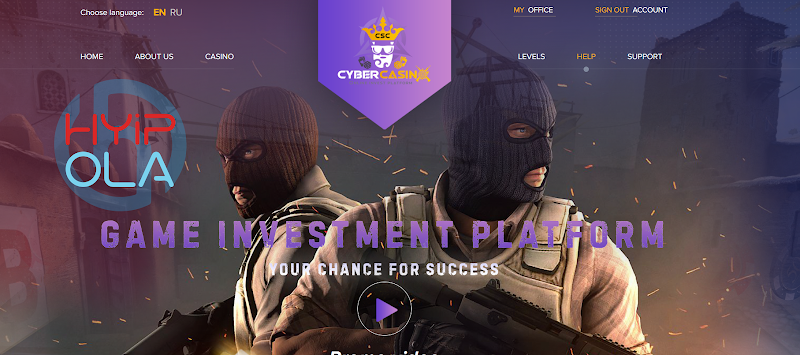 [SCAM] Review CyberSportInvest - Dự án Casino invest từ Hong Kong - Thanh toán Manual