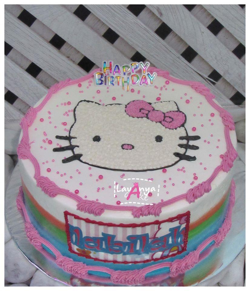 Lavanya Cake Spesialis Rainbow Cake Batam Birthday Cake Batam Rainbow Cake Batam Lavanya Cake Hello Kitty