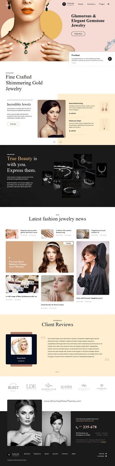 Best Jewelry Responsive Shopify Theme