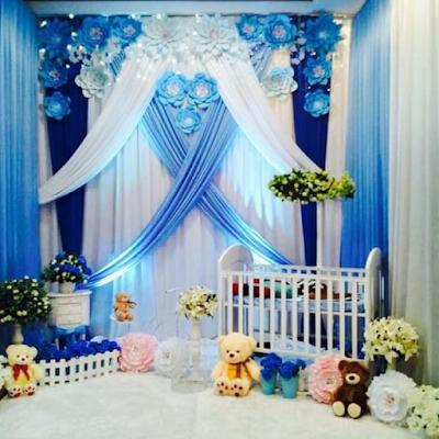 dekorasi aqiqah anak laki-laki terbaru
