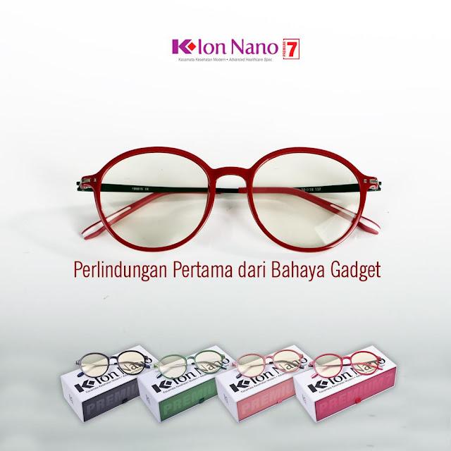 Kacamata Terapi K Ion Nano Premium 7