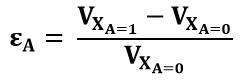Expresión de la energía de activación para la estequiometria real de reacción