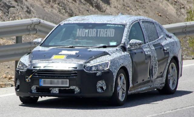 Новое поколение Ford Focus будет представлено в Европе