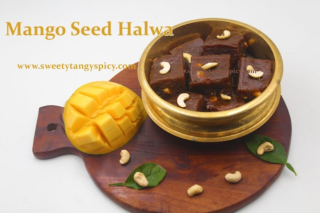 Mangayandi halwa   Mangayandi Aluva   Mango Seed Halawa