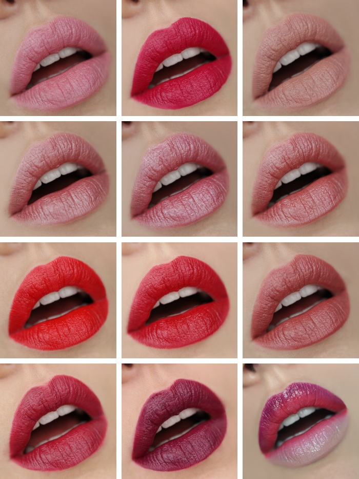 12 Manhattan Lippenstifte
