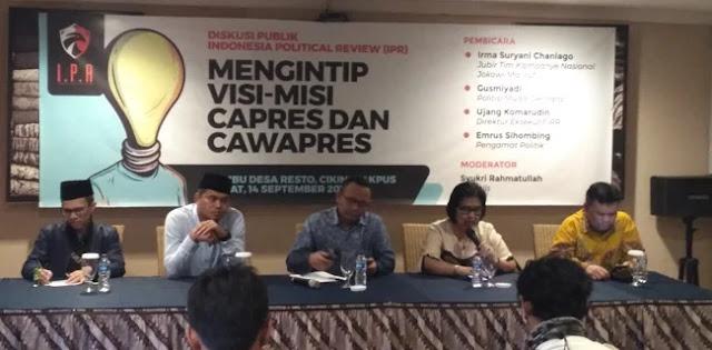 KIK: Jokowi-Ma'ruf Amin Simbol Dunia Akhirat
