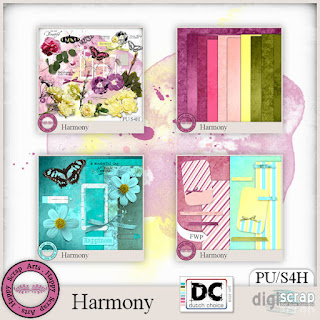 HARMONY BY HAPPY SCRAP ART