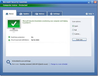 تحميل برنامج مايكروسوفت للحمايه Microsoft Security Essentials