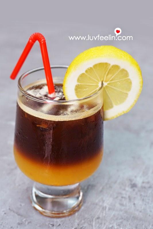 CAFFEiNATED Puchong Orange Black