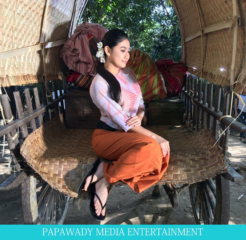 5 Pictures of Thinzar Wint Kyaw In Myanmar Dress