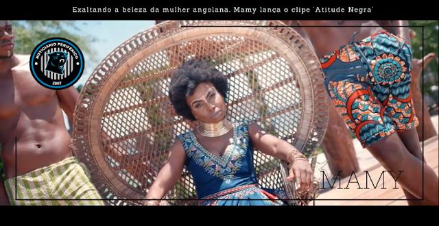 Exaltando a beleza da mulher angolana, Mamy lança o clipe 'Atitude Negra'