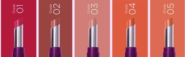 shades moisture lipstik