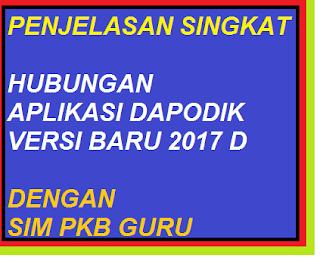 gambar Hubungan Dapodik 2017 d Dengan SIM PKB