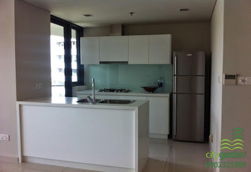 phòng bếp rộng rải | cho thuê căn hộ 2 phòng ngủ city garden