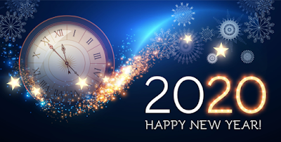2020 happy New year Countdown Timer