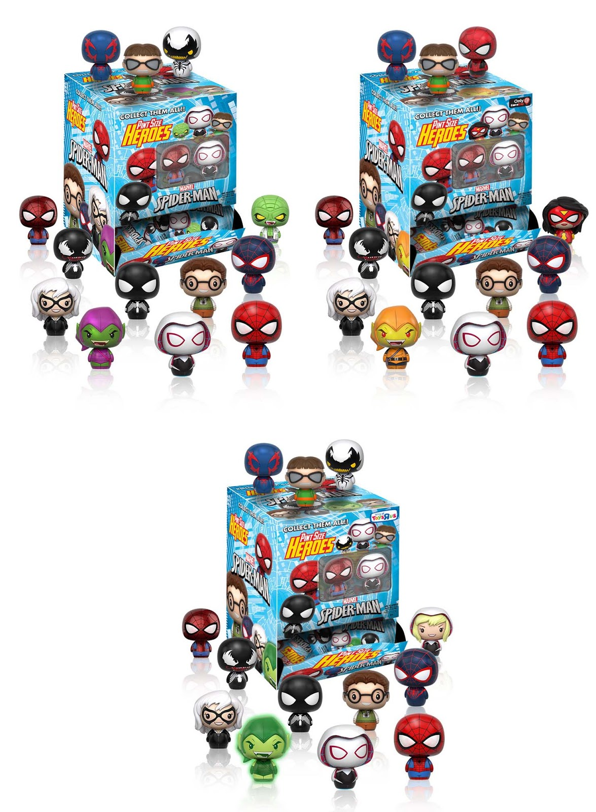 Collecting Toyz Funko Announces Pint Size Heroes Tony Hawk Circuit Boards By Hexbug Power Axle Set Innovation First The Ones To Be Released Will Dc Mini Figures Which Of Course Blind Bag These In September Gamestop Hot Topic Have