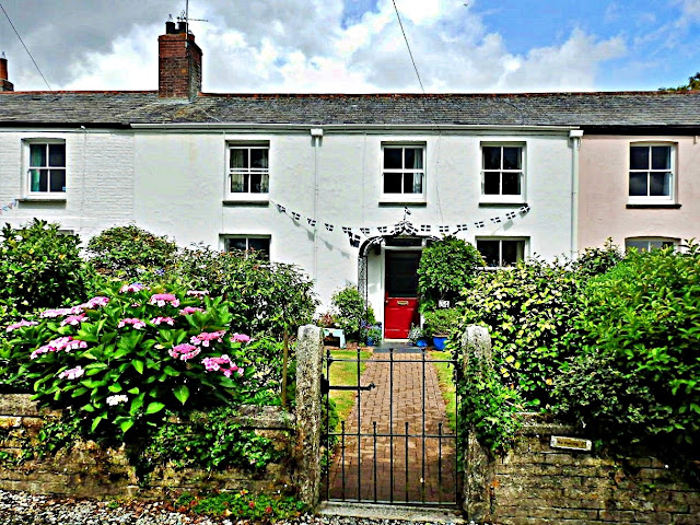 Charlestown Harbour cottages, Cornwall