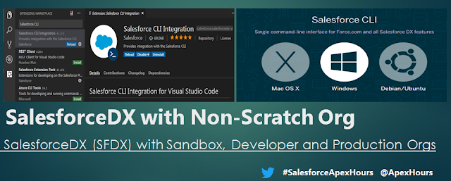 SalesforceDX for Non-Scratch Org