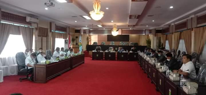 DPRD Panggil Satgas Penanganan Covid-19 Kota Sungai Penuh Bahas Kasus Covid 19 Meningkat