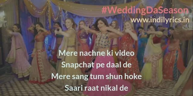 Wedding Da Season | Shilpa Shetty | Neha Kakkar, Mika Singh | Lyrics | Quotes