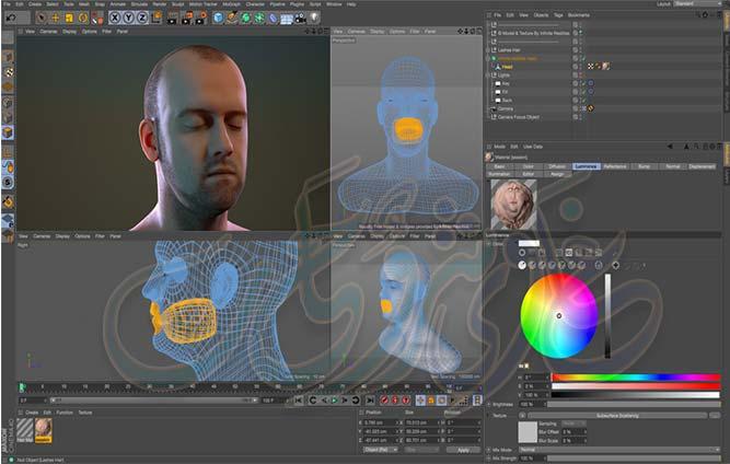 برنامج CINEMA 4D Studio R21.027