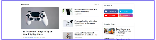 LiteSpot - Responsive News & Magazine Blogger Template Download For Free