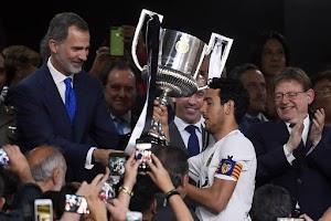 Tumpas Raksasa La Liga, Valencia Juara Piala Raja