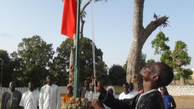 Tourisme, monument, Ibrahima, Sarr, cité, cheminots, chemin, fer, Thiès, visite, syndicat, LEUKSENEGAL, Dakar, Sénégal, Afrique