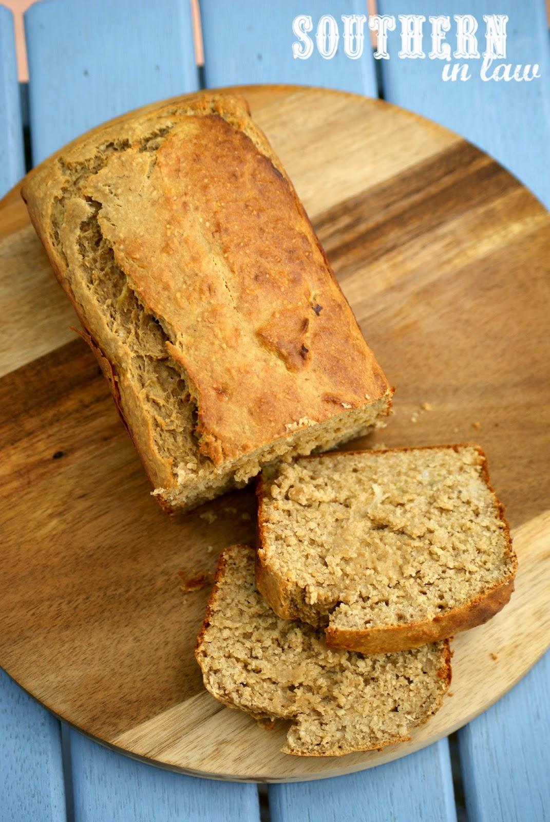 Healthy High Protein Banana Bread Recipe - low fat, gluten free, healthy, high protein, sugar free, freezable recipe, freezer recipe