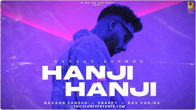 Hanji Hanji Lyrics