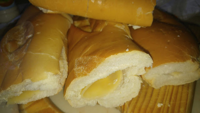 Pan con queso gouda