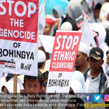 Kami Bersama Muslim Rohingya, Stop the Genocide of Rohingya