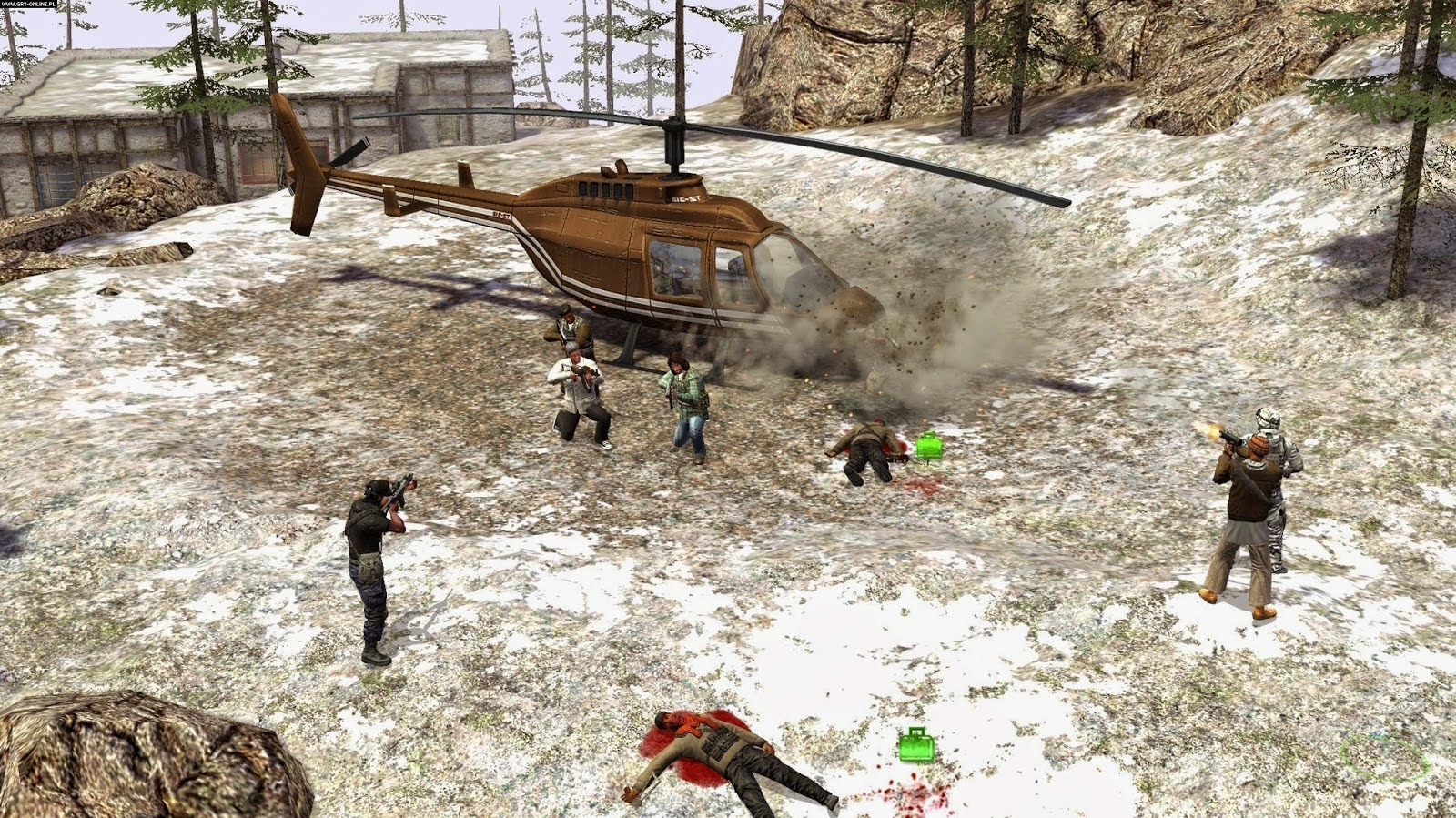 Pc Game Jagged Alliance CrossFire Free Download Full Version
