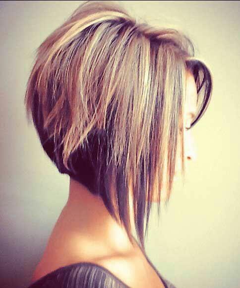 Elegant bob hairstyle