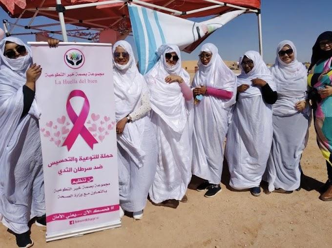"""""""La huella del bien"""" cuando la solidaridad nace en el refugio: Mujeres, jóvenes y saharauis."""