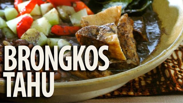 Resep Masakan Brongkos Tahu