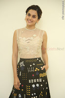 Taapsee Pannu in transparent top at Anando hma theatrical trailer launch ~  Exclusive 011.JPG