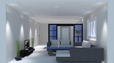 Family Room Minimalist Design Idea
