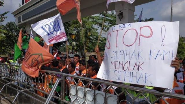 Tolong Pak Jokowi! 10.000 Orang Terancam PHK