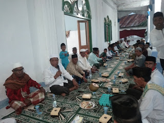 Wali Kota Buka Puasa Bersama Warga Desa Yamtel Kecamatan Tayando Tam