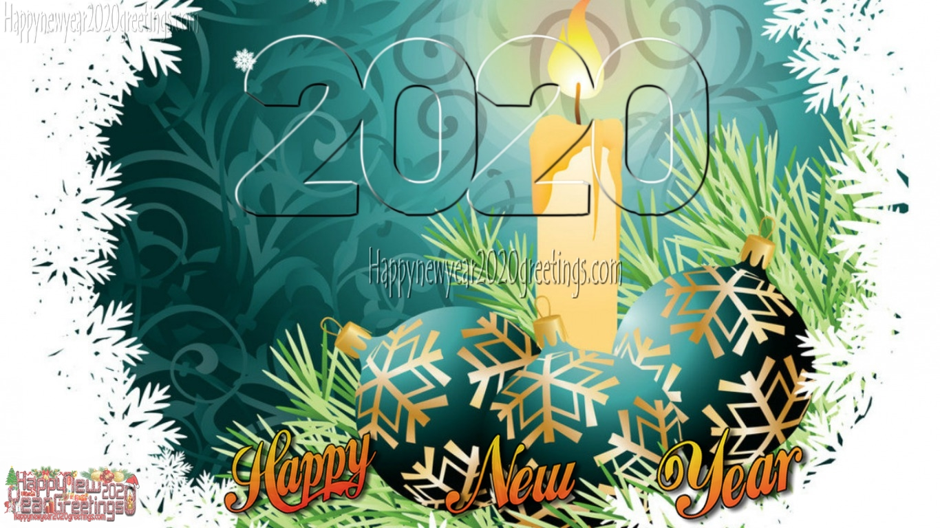 Happy New Year 2020 Colourful Hd Wallpapers 4k Download Free