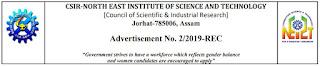 CSIR –NEIST Junior Secretariat Assistant (JSA) Previous Papers and Syllabus 2019-20