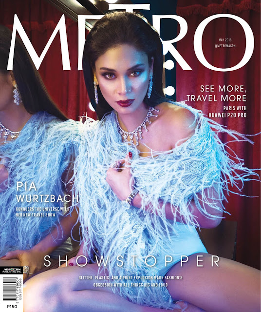 Pia Wurtzbach Metro May 2018 Cover Babes