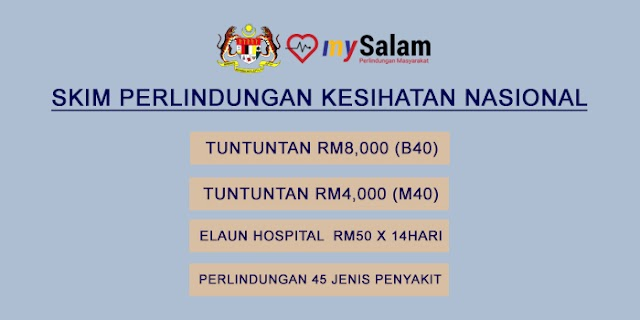 mySalam: Skim Perlindungan Masyarakat / Pendaftaran & Tuntutan RM4,000