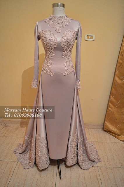 فستان سهرة للمحجبات | Evening Hijab Dress