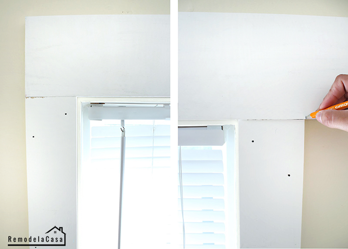 window trim installation