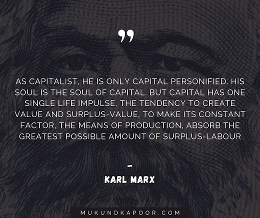 Karl Marx quotes On Capitalism And Communism