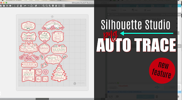 silhouette 101, silhouette america blog, PNG files, tracing, stickers