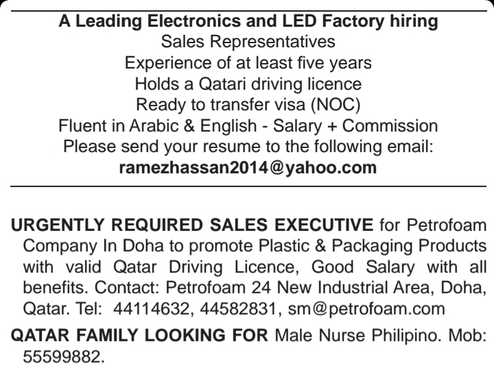 NEW JOBS IN - QATAR - APPLY TODAY - Career Opportunities4you