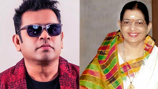 AR Rahman, exhilarated on P Susheela's request